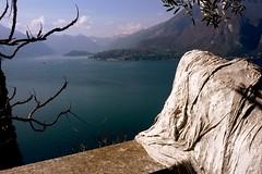 affliction (sillybutterfly) Tags: blue lake lago blu ghost lakecomo fantasma lagodicomo castellodivezio
