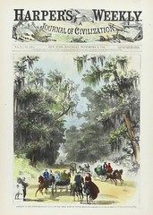 "Harper's Weekly Vol. 10, No. 506 (September 8, 1866). ""Magnolia Grove, on the Shell Road at Mobile, Alabama"" by A. R. Waud (lhboudreau) Tags: art harpers illustration magazine newspaper carriage coverart alabama newspapers journal illustrations engraving civilization thesouth horsedrawn magazines handcolored harper frontpage harpersweekly magazineart engravings carriages titlepage 1866 magnoliagrove woodengraving mobilealabama treemoss woodengravings arwaud shellroad waud ajournalofcivilization journalofcivilization volume10number506 september81866 theshellroad"