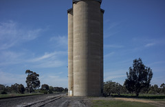 silo, Western Highway (thoughtfactory) Tags: architecture digital rural imac australia victoria silos phototrip scoping westernhighway leicasummicron35mmf20asph garysauerthompson novoflexadaptor lightroom5 sonynex7