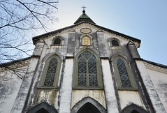Oura Church (jpellgen) Tags: travel church japan architecture easter japanese march spring european catholic cathedral sigma christian  nippon christianity nagasaki nihon nationaltreasure  2016  oura  1770mm kushu ourachurch tenshudo d7000
