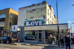 Love (Daniele Nicolucci photography) Tags: uk greatbritain england london graffiti unitedkingdom gb camdentown 2016 lovelace allengoldstein