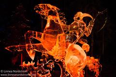 Ice Art - Rider of the Apocalypse
