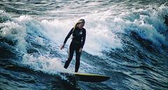OCEAN BEACH 95 (Detective Steve) Tags: ocean california surf waves sandiego surfer surfing pacificocean surfboard oceanbeach wetsuit surfergirl