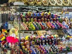 211 nesting dolls prague (Eva Blue) Tags: window shop prague praha tourist czechrepublic nestingdolls russiannestingdolls evablue