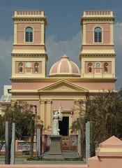 Notre Dame des Anges, Pondicherry (Aidan McRae Thomson) Tags: india church tamilnadu pondicherry puducherry