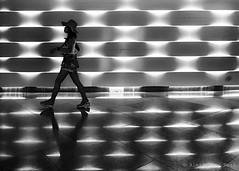 Singapore (ale neri) Tags: street shadow people blackandwhite bw woman reflection asian singapore streetphotography aleneri alessandroneri