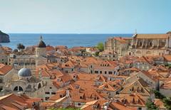 Toits de Dubrovnik (R.Laffontas) Tags: sea orange mer croatia roofs dubrovnik croatie toits