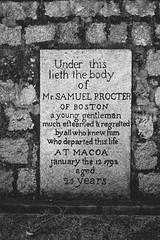 Samuel Procter (Linus Wrn) Tags: china blackandwhite bw monochrome cemetery blackwhite asia unesco cenotaph macau