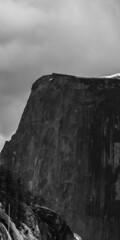 Tip of the half (Vitorio Benedetti) Tags: california bw nikon rocks pb yosemite massive granite halfdome nationalparks myfavoritepark d7100 anseladamstribute vbenedetti