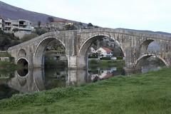Trebinje, Bosnia and Herzegovina (Taylor Mc) Tags: park city bridge roman bosnia herzegovina walls cyrillic rs hercegovina bosna trebinje bosniaandherzegovina srpska republikasrpska