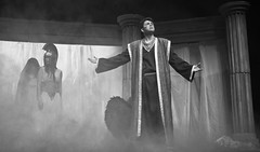 Orestes e Atenea (DivesGallaecia) Tags: teatro tragedy esquilo orestes tragedia aeschylus atenea eumenides eumnides traxedia seecgalicia erinias