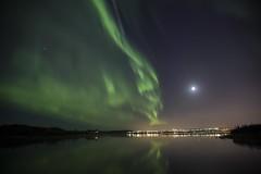 Icelandic Aurora borealis (Benedikt Halfdanarson) Tags: stars iceland nightsky sland northernlights auroraborealis norurljs stjrnur