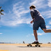 Skater in Venice Beach - Log Angeles, United States - Color street photography