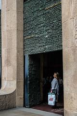 Doors-to-scale_DSC3009 (Mel Gray) Tags: barcelona church spain catholic basilica religion gaudi sagradafamilia religiousart religiousarchitecture