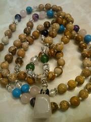 12289585_1574791939503846_4386620159037150582_n (innerjewelz@rogers.com) Tags: handmade traditional jewelry jewellery meditation custom mala 108 mantra intention knotted japamala innerjewelz
