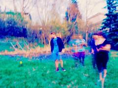 (Highburnate) Tags: red canada color colour digital lumix hoodie spring blurry saturated jake deer panasonic nathalie alberta daffodil saturation ghosts adidas 2016 gx8 layden mirrorless weiswasser dmcgx8