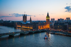 Parliament from London Eye (Olly Plumstead) Tags: london eye landscape housesofparliament londoneye parliament bigben 5d2 canon5dmarkii ollyplumstead