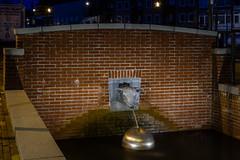 Brouwersgracht, Veenendaal (NL) (evb-photography) Tags: brouwersgracht veenendaal schaap fontein avondfotografie horlogerievanmanen