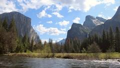 Looking East up Yosemite Valley (Gunn Shots (Mark Gunn)) Tags: yosemite elcapitain bridalveilfalls yosemitevalley mercedriver