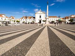 Marques de Pombal - Vila Real De Santo Antonio, Algarve Portugal (Peter Bullard) Tags: portugal church square jail obelisk algarve pombal councilhouse orangetrees marquesdepombal vilarealdesantoantnio royalsquare
