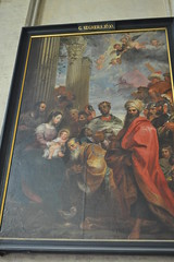 The Adoration of the Magi by Gerard Seghers (1630). (greentool2002) Tags: our church by lady lieve bruges gerard adoration magi onze the seghers 1630 vrouwekirk