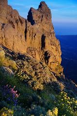 Pico De Las Nieves.  Highest point on Gran Canaria. (PeteB72) Tags: sunset grancanaria island highpoint summit volcanic goldenhour laspalmas goldenlight picodelasnieves