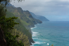 The Napali Coast 1 (Dylan Childs) Tags: ocean vacation beach canon island hawaii coast paradise pacific hiking trail kauai tropical napali napalicoast