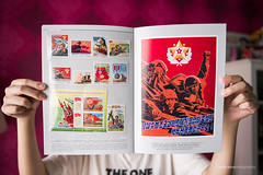 North Korea Stamp Album Set (reubenteo) Tags: propaganda korea stamp collection communism postcards collectables socialism northkorea dprk lapelpins