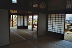 Reception Suit (jpellgen (@1179_jp)) Tags: travel castle japan architecture japanese march spring nikon sigma shikoku tatami keep 日本 samurai kochi 四国 2016 高知 donjon tenshukaku kochijo 1770mm 高知城 tenshu d7000