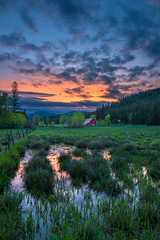 Meadow Sunset (CraigGoodwin2) Tags: barn farm meadow idaho agriculture inlandnorthwest