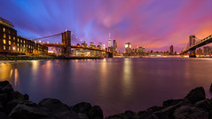 Brooklyn (el_farero) Tags: city nyc sunset newyork brooklyn canon landscape manhattan farero