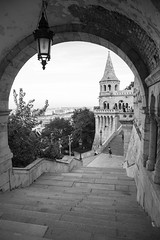Fishermen's Bastion (Erik Strahm) Tags: castle hungary hill budapest bastion hu castlehill fishermens fishermensbastion europe2015