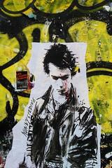 Konny_1515 rue Quincampoix Paris 04 (meuh1246) Tags: streetart paris sexpistols sidvicious paris04 konny ruequincampoix