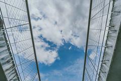 Framed sky #112/365 (A. Aleksandraviius) Tags: blue sky detail architecture clouds concrete nikon framed wide 365 nikkor lithuania kaunas lietuva 2016 project365 365days 1424 d810 112365 nikond810 1424mm 3652016