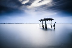 The Calm Before The Storm (Stephen Oliveira) Tags: longexposure water dock nikon florida sigma melbourne 1020 haida olddock d300 neutraldensity spacecoast 10stopndfilter nikond300 stephenoliveira