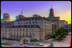 Old City Hall of Toronto 3-D ::: HDR/Raw Anaglyph Stereoscopy (Stereotron) Tags: urban toronto ontario canada architecture america radio canon eos stereoscopic stereophoto stereophotography 3d downtown raw control north citylife modernism kitlens twin anaglyph stereo stereoview to remote spatial 1855mm hdr province redgreen tdot 3dglasses hdri transmitter stereoscopy synch anaglyphic optimized in threedimensional hogtown stereo3d thequeencity cr2 stereophotograph anabuilder thebigsmoke synchron redcyan 3rddimension 3dimage tonemapping 3dphoto 550d torontonian hyperstereo stereophotomaker 3dstereo 3dpicture anaglyph3d yongnuo stereotron