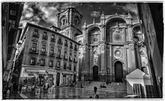 Granada Cathedral, Spain. #blackandwhite #blackandwhitephotography #cathedrals #buildings (flemminghansenfotografi888) Tags: blackandwhite buildings cathedrals blackandwhitephotography