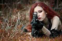 ARMED & LOADED (A Gun & A Girl.) Tags: girls muscles blood arms guns hotgirls sexygirls girlswithguns shootingguns gettingshot gunshotwounds hotguns girlsshootingguns girlsgettingshotwithaguns