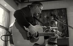 Cafe Blanca Open Mic (Sherlock77 (James)) Tags: people musician woman man calgary guitar flute openmic