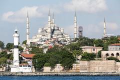 minarets (eb78) Tags: turkey minaret middleeast istanbul mosque sultanahmet fatih