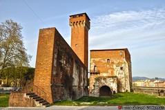 Torre e palazzotto della fortezza vecchia (Giovanni V.) Tags: italy panorama italia torre it ponte pisa shipyard fortress hdr cittadella gioco fortezza vecchia arsenali