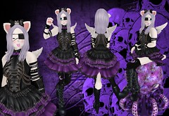 Kowai by Rock (SerenitySemple) Tags: party anime fashion rock furry punk gothic free event secondlife kawaii kgs kowai altair qe ayashi mokyu barerose animehead distorteddreams shinyshabby kowaiponpon