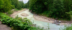 Partnach (HolmisticWalker) Tags: panorama film june germany garmischpartenkirchen fujisuperia400 partnach zenithorizon202