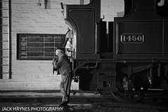 Watching proceedings. (Jack Haynes Photography) Tags: heritage train photography events centre great railway steam western timeline british locomotive didcot oxfordshire charter preservation 1450