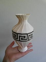 Amphora (Dasssa) Tags: paper greek origami antique amphora vase dasssa orirevo paperain elphanthide