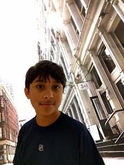 Nico (Ian Muttoo) Tags: nyc newyorkcity ontario canada gimp mississauga nico squareone mercerstreet mercerst 3x1 orlakiely 20151231161252edit