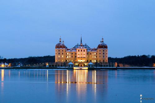 Moritzburg - Schloss Mortizburg zur Blauen Stunde 2