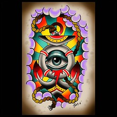 Aye Eye Anchor! #anchor #tattoo #pooch #flash #alteredstatetattoo