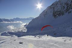 Gleitschirmfliegen-Winter-Aletsch-Arena-1-flyingcenter (aletscharena) Tags: schweiz wallis aletschgletscher gleitschirm unescowelterbe gleitschirmfliegen aletscharena aletscharenach