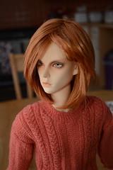 Ben - new jumper (Scarlett Empress) Tags: knitting doll ben io bjd soom kir supergem